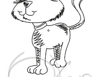 MACHINE EMBROIDERY FILE - Cat