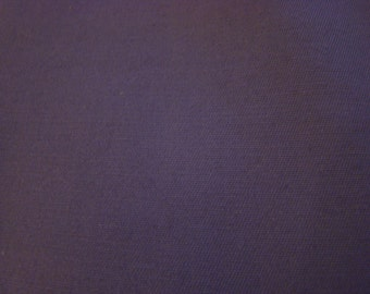 Vintage  Amethyst Bandmaster Thin Twill Fabric by the yard - 36 inches long  x 44.5 inches wide