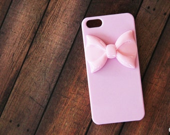 Pink iPhone 7 Case iPhone 5s Case Cute Bow iPhone Case Girly iPhone 7 Case iPhone 7 Plus Case Samsung  CaseSamsung Case Pink iPhone 6