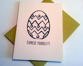 Express Yourself Easter Card