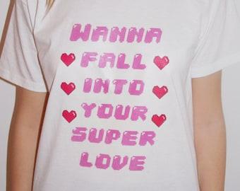 Super Love Charli XCX Pixel T-Shirt