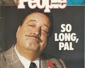 Jackie Gleason Vintage People Magazine - July 13, 1987