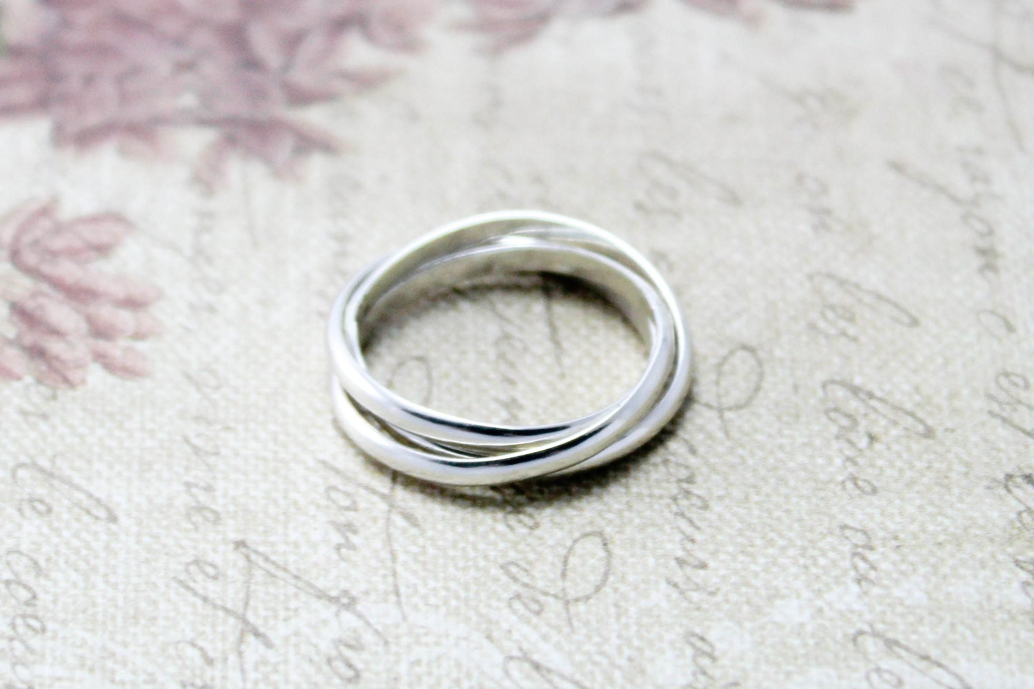 sterling silver russian wedding ring by emmalynnjewellery