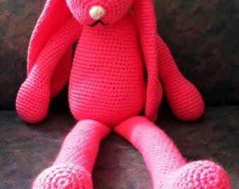 Custom Made Crocheted  Bunny