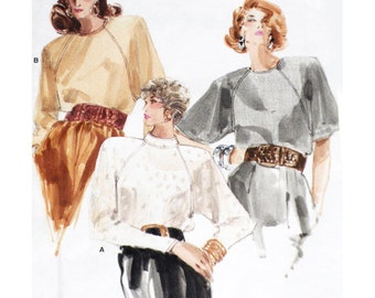 Vogue Sewing Pattern 7044 Blouse  Size:  8-10-12  Used