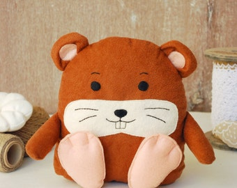 Hamster toy stuffed plush doll