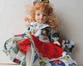 Little Redhead Porcelain Doll