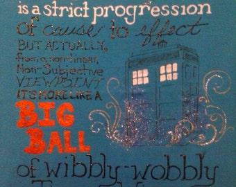 Doctor Who 'Wibbly Wobbly Timey Wimey' TShirt