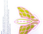 Creature Kit: Pink and Lime Green Moth