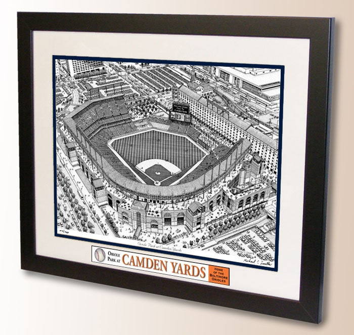 Oriole Park At Camden Yards Art Home Of The Baltimore Orioles