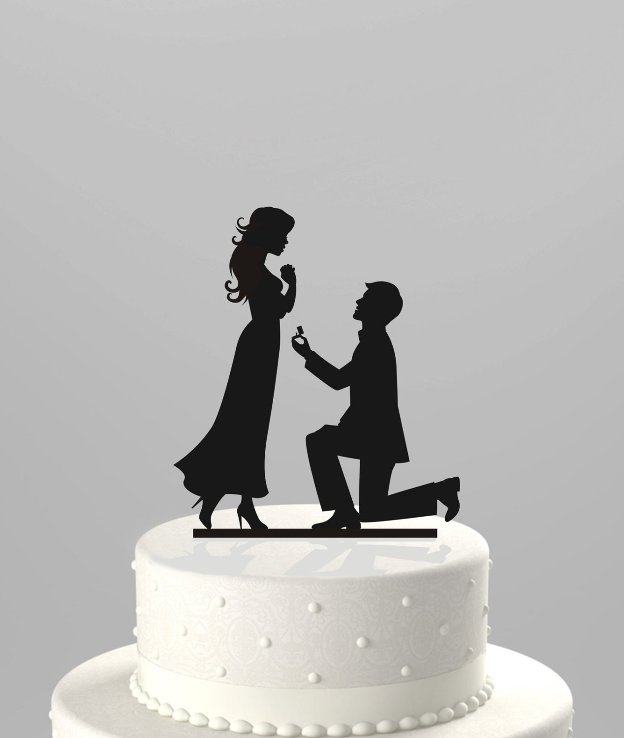 Silhouette Cutters For Cakes Wedding Cake Topper Silhouette
