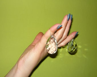 Something Old, Something New - crystal bridal earrings #10