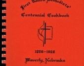 Family Recipes Vintage Community Cookbook 1981 First United Methodists Centennial Cookbook  Waverly NE