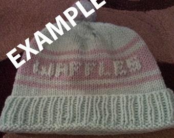 Custom Winter Hat!