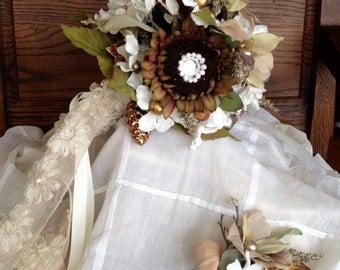 Woodland Bridal Bouquet