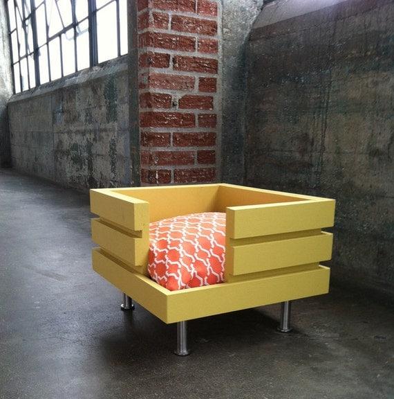 The Flat - Handmade modular style dog bed