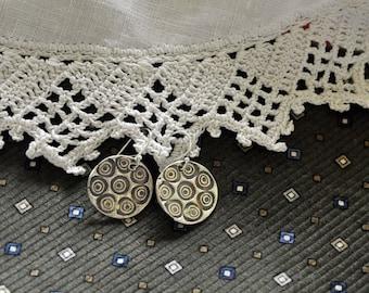 Fine Silver Dangle Earrings: a fun playful staement