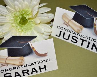Graduation Treat Bag Toppers
