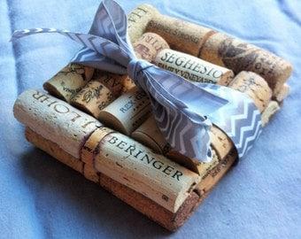 Wine Cork Coasters (Set of 2)