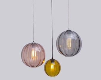 Modernist Round Pendant Light