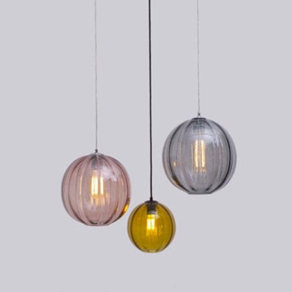 Modernist Round Pendant Light