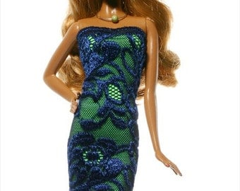 Handmade clothes for Barbie (dress): Niké