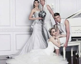 Create your Dream Wedding Dress - Deposit for Custom Couture Wedding Dress