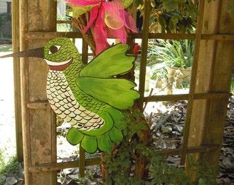 Hummingbird Door Hanger Bird Door Hanger Spring Door