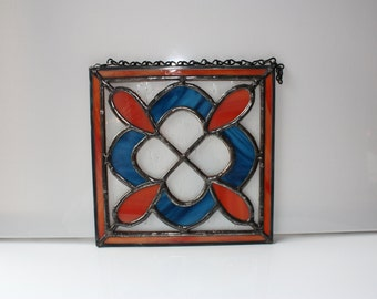 Stained Glass Quilt Panel - Block 1