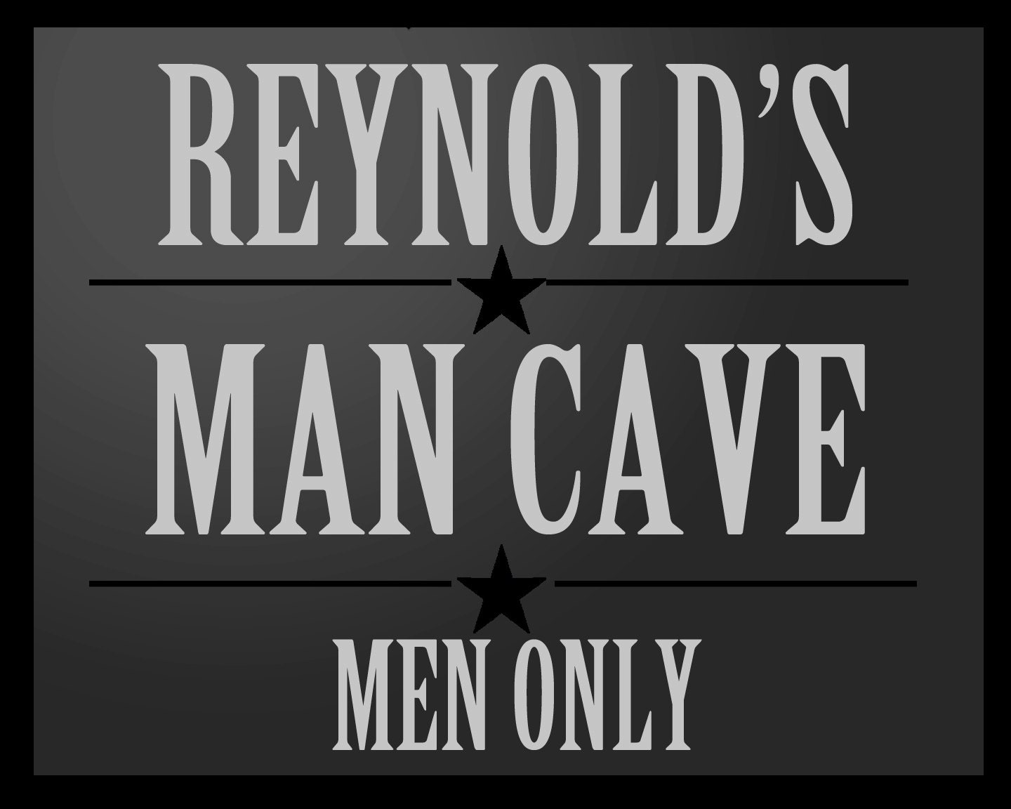 Personalized Man Cave Signs Etsy : Personalized man cave sign custmoize it just for him great