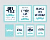 Printable Mustache Baby S...