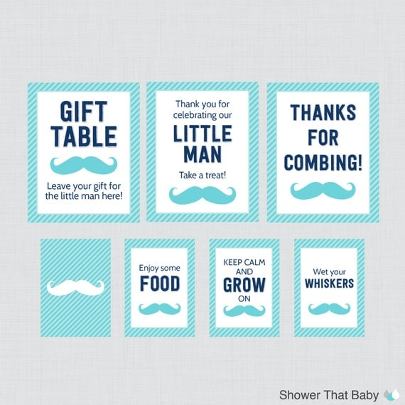 baby shower table signs eight signs welcome sign favors sign