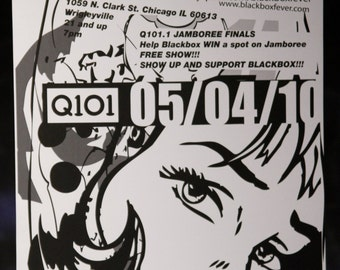Blackbox-Chicago May 2010 Concert Poster