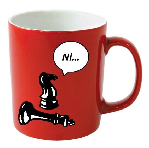 Items Similar To Customized Coffee Mug Knight Who Says