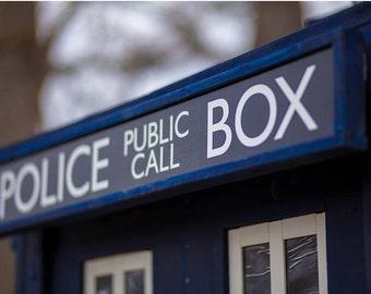 Police Public Call Box (please read description)