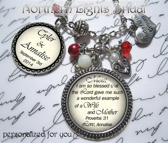 Wedding Gifts For Christian Bride : Christian wedding gift Mother of the Bride gift from bride wedding ...