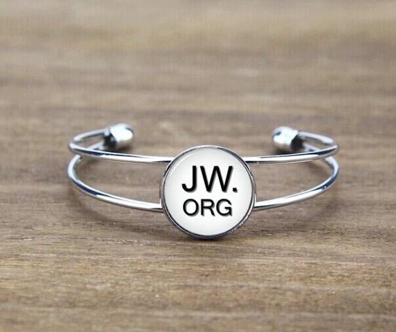 custom jw bangle bracelet, custom jw letters, monogrammed bangle bracelet, custom your image or logo,custom font, jw initials gifts, cool