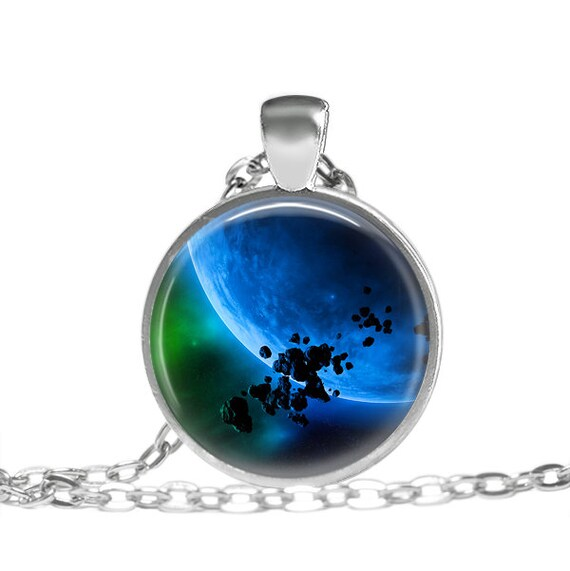 Asteroid Necklace Geekery Jewelry Necklace Geekery by ...