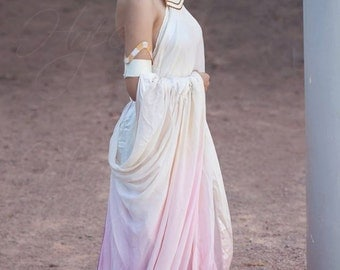 Padme Amidala Lake Gown Cosplay from Star Wars Episode II: Attack of the Clones