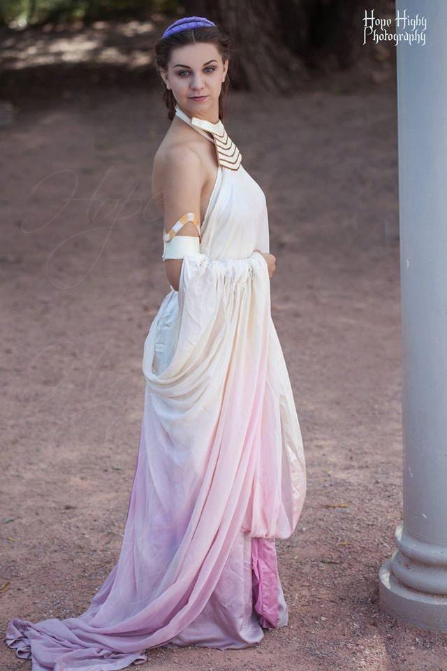 Padme Amidala Lake Gown Cosplay From Star Wars Episode Ii