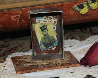Very Precious - A Story Box Assemblage