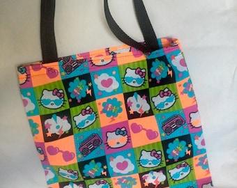 Sanrio Hello Kitty Neon Tote Bag