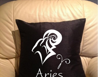Aries pillow cover  Available in many colours