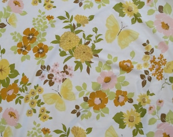 Vintage Waverly Fabric/ By the Yard