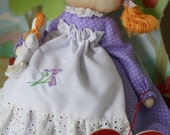 Apple Cheeks Collectible Doll - Miss Carrie Cortland - Gift Ideas for Kids!