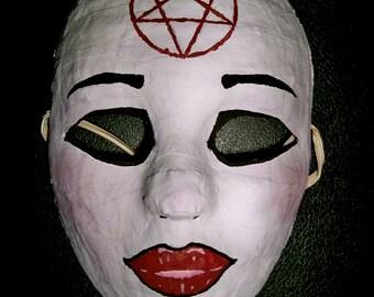 Pretty Evil - Pentagram Face Mask
