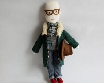 Character doll - Alberto