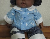 Vintage African American Berenguer 14 inch Doll