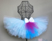 Frozen tutu Blue and white - Luxe Collection Winter Wonderland Tutu