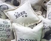 3 reusable organic lavender dryer sachets, aromatherapy, eco friendly